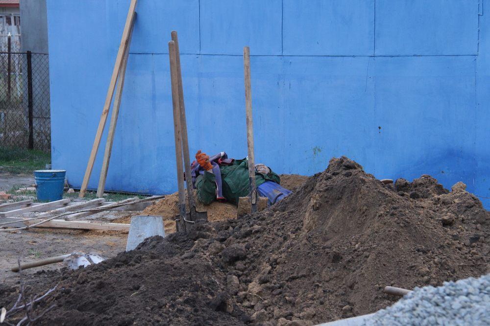 В Запорожской области парень был погребён заживо (ФОТО)
