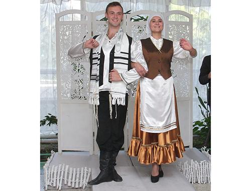 Доброе утро, картинки евреев в национальных костюмах
