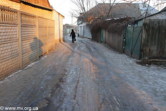В Запорожской области появился ледяной «коридор смерти» (ФОТО)
