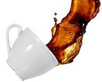 Пятна от кофе вывести в домашних условиях 1
