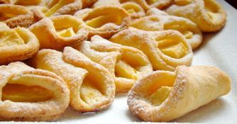 творожное печение с яблоками