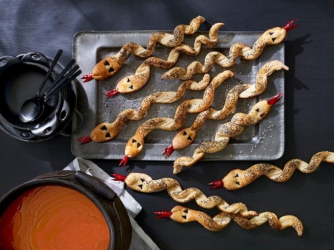 хлебные «Змейки» для детей