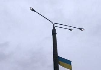 Для кого в Мелитополе горят фонари (фото, видео) фото