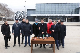 Строительство терминала запорожского аэропорта приостановлено: под угрозой запуск новых рейсов фото