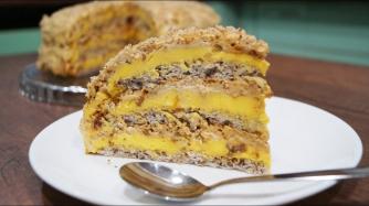 Рецепт дня: торт «Египетский» фото