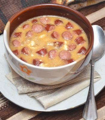 Рецепт дня: баварский пивной суп с сыром фото