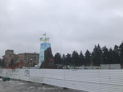 На площади Запорожской предлагают возвести обелиск в честь города  фото
