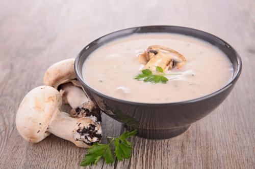 Рецепт дня: сливочно-грибной соус из шампиньонов фото