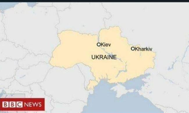 BBC извинилась за изображение карты Украины без Крыма в новости про авиакатастрофу Ан-26