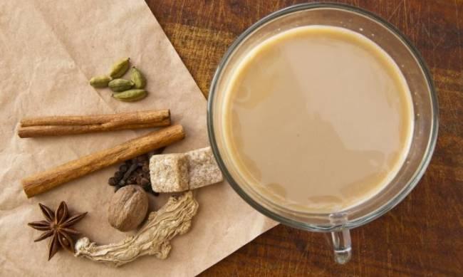 Масала-чай – согревающий напиток для души фото