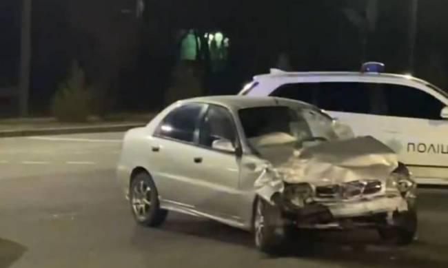 В Мелитополе пьяный водитель устроил ДТП  фото