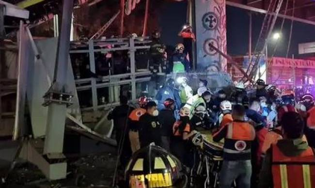 В Мексике рухнул метромост вместе с поездом. 15 человек погибли, 80 ранены фото