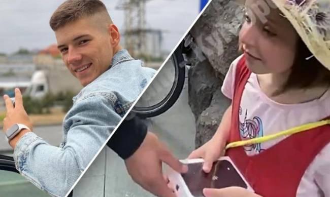 Блогер подарил ребенку IPhone и отобрал, как только выключил камеру