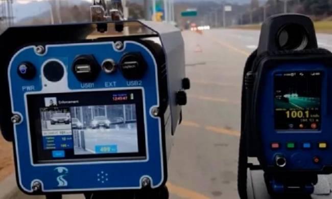 В центре Мелитополя установили камеру автофиксации нарушений ПДД фото
