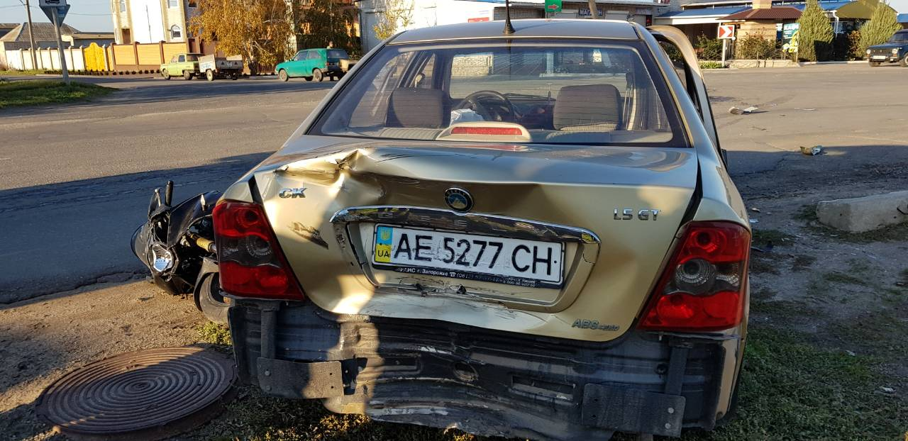 В Кирилловке произошло тройное ДТП