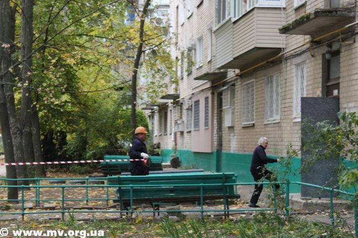 """Бригада """"Мелитопольгаза"""" не смогла эвакуировать жильцов"""