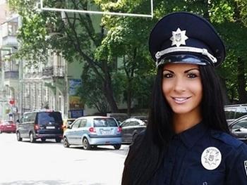 Самая сексуальная полицейская