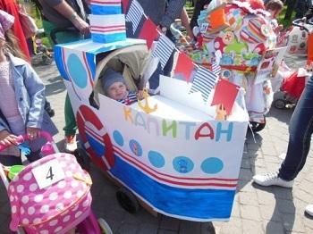 Украшение детских колясок фото