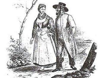 Меннониты - переселенцы на мелитопольщину из далекой Пруссии, фото из архива редакции