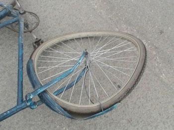 Под мелитополем погиб велосипедист