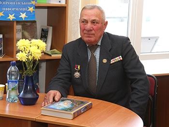 Фото Сергея КРЫЛОВА: На встрече с Геннадием Арестенко.