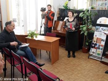 Фото МВ: На презентации книги Леонида Жавжарова