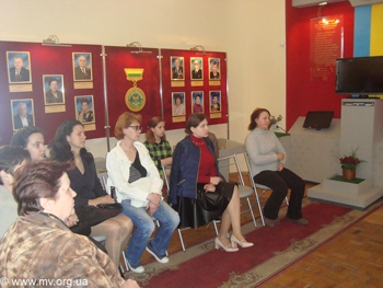 в музее отметили 100-летие со дня рождения  Николая Мохова