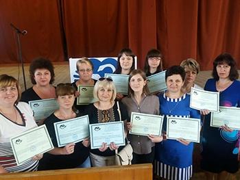 Мелитопольские учителя учились во Львове гуманной педагогике