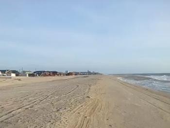 Что происходит на курортах Запорожской области в конце осени? (видео)
