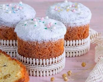 Вкусные десерты из пасхальных куличей