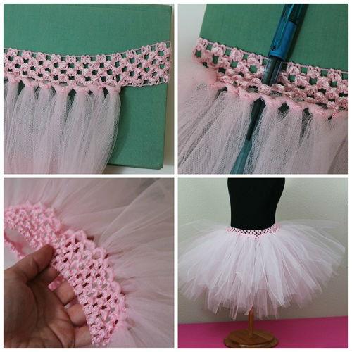 Фатиновые юбки как делать