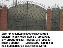 Забор Пыжинского